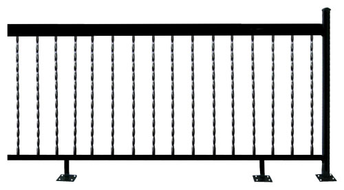 Wrought Iron Deck Rail And Balcony Rail