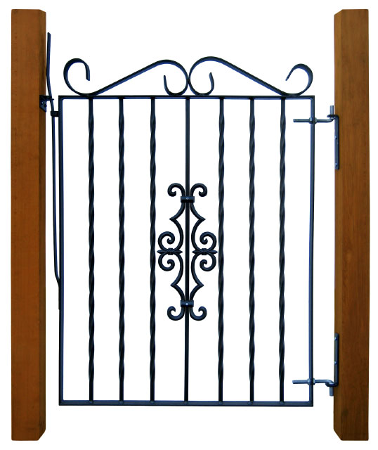 Steel Gate Frames and Gate Braces for Fence Gates